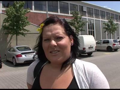 Deutsche BBW in die rasierte Muschi gefickt