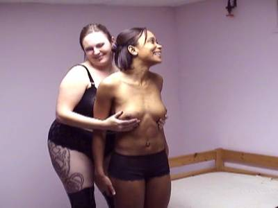 Lesben BDSM mit BBW